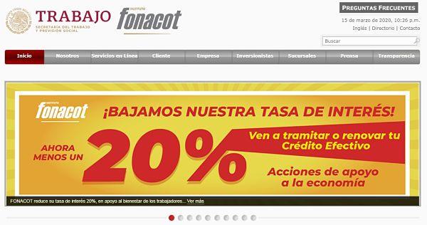 www.fonacot.gob.mx citas